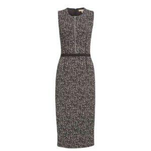 Michael Kors Collection Sheath Dress 2 Black White